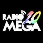 Logo da emissora Rádio Mega 10