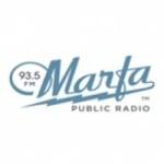 Logo da emissora KRTS 93.5 FM
