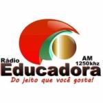 Logo da emissora Rádio Educadora 1250 AM