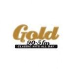 Logo da emissora Gold 90.5 FM