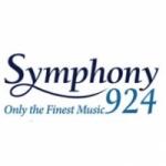 Logo da emissora Symphony 92.4 FM