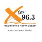Logo da emissora XFM 96.3
