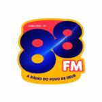 Logo da emissora Rádio 88 FM 88.7
