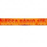 Logo da emissora Rádio Nossa Rádio 105.9 FM