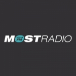 Logo da emissora Radio Most 105.8 FM