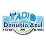 Logo da emissora Rádio Danúbio Azul 1250 AM