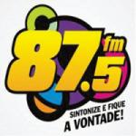 Logo da emissora Rádio do Campo 87.5 FM