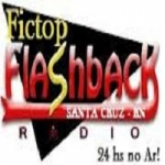 Logo da emissora Fictop Flashback Web Rádio