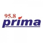 Logo da emissora Radio Prima 95.8 FM
