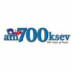 Logo da emissora KSEV 700 AM