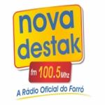 Logo da emissora Rádio Nova Destak 100.5 FM