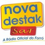 Logo da emissora Rádio Nova Destak FM