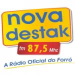 Logo da emissora Rádio Nova Destak 87.5 FM
