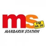 Logo da emissora Radio Mandarin Station 98.3 FM