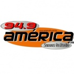 Logo da emissora Rádio América 94.9 FM