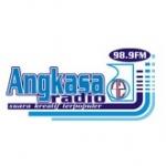 Logo da emissora Angkasa Radio 98.9 FM