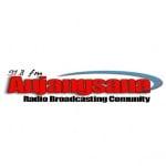 Logo da emissora Anjangsana 91.8 FM