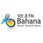 Logo da emissora Bahana 101.8 FM