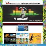 Logo da emissora Webrádio A Cidade