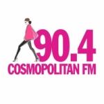 Logo da emissora Radio Cosmopolitan 90.4 FM
