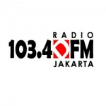 Logo da emissora Radio DFM 103.4 FM