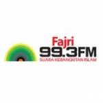 Logo da emissora Radio Fajri 99.3 FM