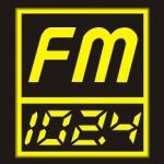Logo da emissora Gajahmada 102.4 FM