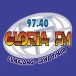 Logo da emissora Gloria 97.4 FM