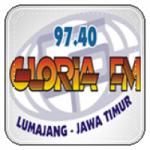 Logo da emissora Radio Gloria 97.4 FM