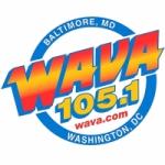 Logo da emissora Radio WAVA 105.1 FM