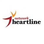 Logo da emissora Heartline 100.6 FM