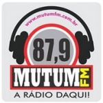 Logo da emissora Rádio Mutum 87.9 FM