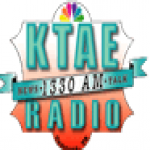 Logo da emissora KTAE 1330 AM
