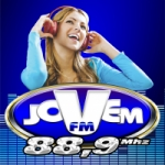 Logo da emissora Rádio Jovem 88.5 FM