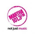 Logo da emissora Martha 101.3 FM