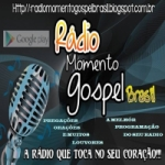 Logo da emissora Rádio Momento Gospel Brasil