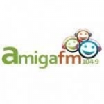 Logo da emissora Rádio Amiga 104.9 FM
