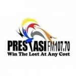Logo da emissora Radio Prestasi FM