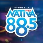 Logo da emissora Rádio Nativa 88.5 FM