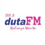 Logo da emissora Radio Duta 99.3 FM