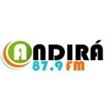 Logo da emissora Rádio Andirá 87.9 FM