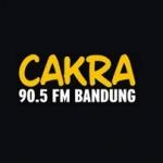 Logo da emissora Radio Cakra 90.5 FM
