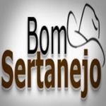 Logo da emissora Rádio Bom Sertanejo