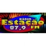Logo da emissora Rádio Estação 87.9 FM