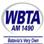 Logo da emissora WBTA 1490 AM