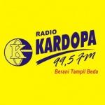 Logo da emissora Radio Kardopa 99.5 FM