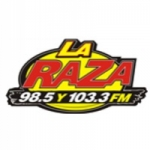 Logo da emissora KTJM 98.5 FM