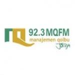 Logo da emissora Radio MQ 92.3 FM
