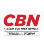 Logo da emissora Rádio CBN 97.5 FM