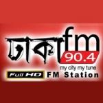 Logo da emissora Radio Dhaka 90.4 FM